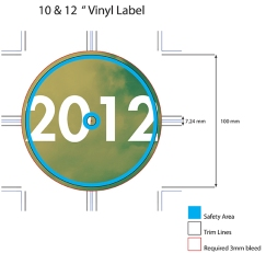 Bonehouse_12_Inch_Vinyl_label 2012 Side A