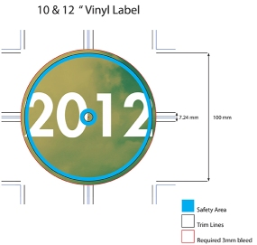 Bonehouse_12_Inch_Vinyl_label 2012 Side A